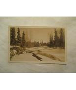 Alaska Alaskan winter Scene AK  Postcard - $3.99