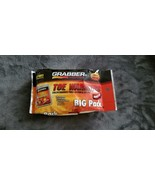 GRABBER TOE WARMERS BIG PACK 8 PAIRS (16 WARMERS) - NEW IN PACK - $15.99