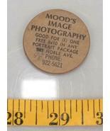 Vintage Madera Níquel Mood's Imagen Fotografía Pittsburgh Pa Tthc - $26.85