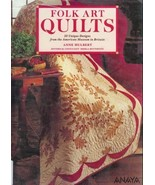 Folk Art Quilts 20 Designs Traditional Quilt Pa... - $12.93