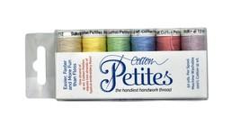 Sulky Sampler Petites 12wt Cotton Thread 6 Pack Spring 712-02 - $9.86