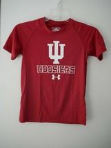 Under Armour NCAA Indiana Hoosiers Boys Tech Tee Sz M NWT - $14.85