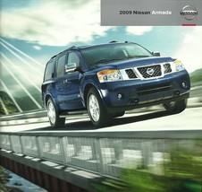 2009 Nissan ARMADA sales brochure catalog US 09 V8 SE LE - $8.00