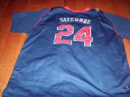 NIKE CLEVELAND INDIANS MLB #24  GRADY SIZEMORE JERSEY AUTHENTIC  - €26,39 EUR