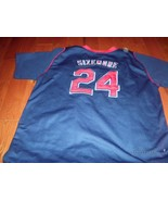 NIKE CLEVELAND INDIANS MLB #24  GRADY SIZEMORE JERSEY AUTHENTIC  - $29.69