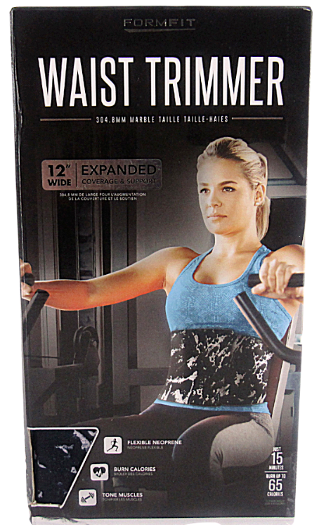 "Primary image for FormFit Waist Trimmer 12"" Wide Expanded Coverage & Support Burn Calories & Tone"