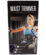 "FormFit Waist Trimmer 12"" Wide Expanded Coverage & Support Burn Calories... - $16.78"