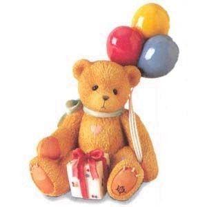"""Cherished Teddies Nina, event figurine """"Beary Happy Wishes"""""""