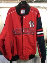 NWT Saint Louis Cardinals Jacket Coat MLB Baseball Carl Banks G3 Letterm... - $59.40