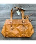 Rue Princesse Paris Bag Slouch Tan Short Shoulder Medium Large - $41.73