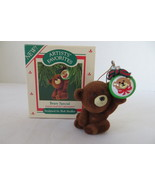 Christmas Artist's Favorites Keepsake 1987 Beary Special Ornament - $6.79