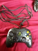 MICROSOFT  Wired Black Controller Authentic Official Genuine Xbox Not Tested - $10.35