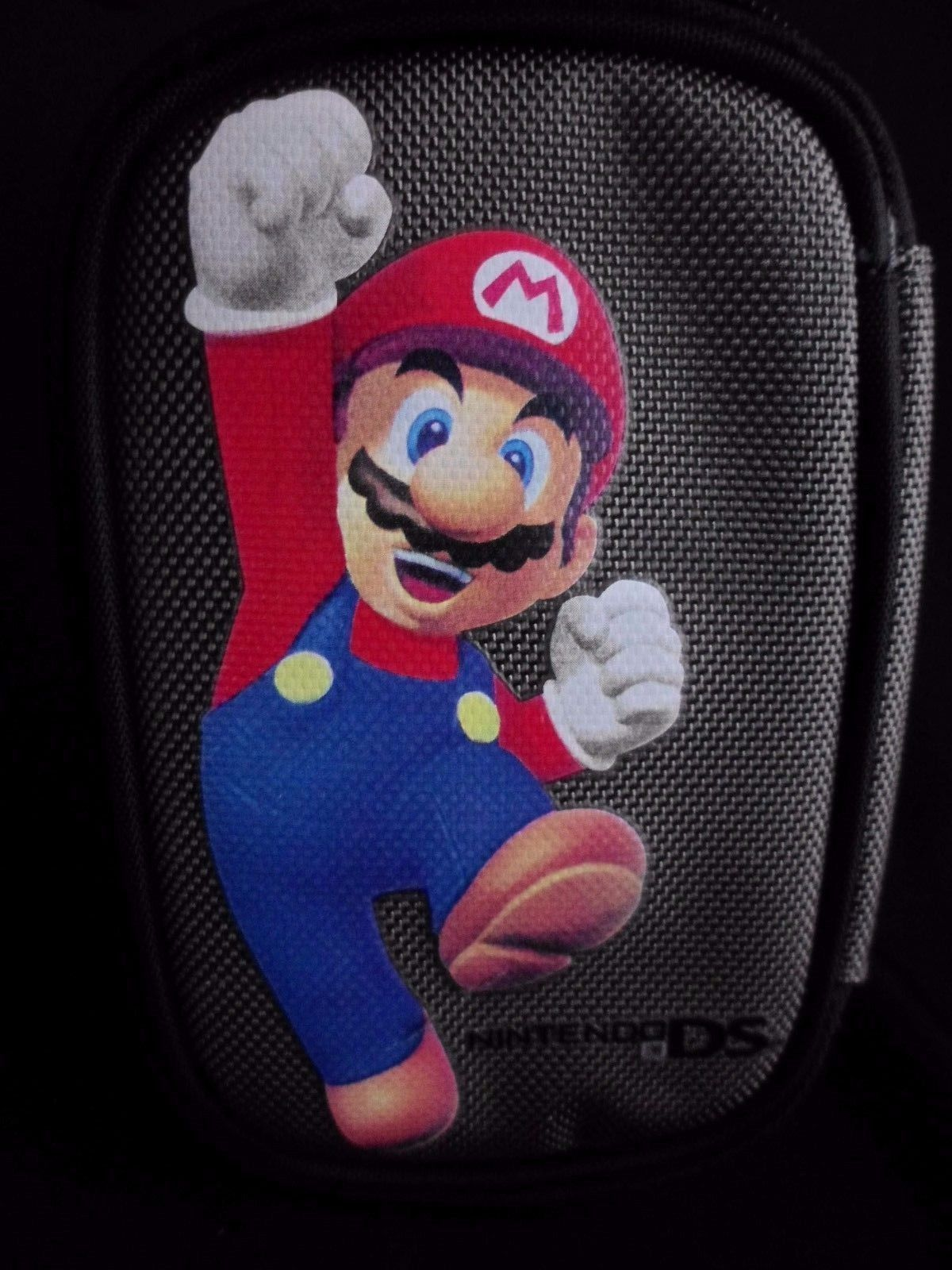 Primary image for Super Mario Carrying Case for Nintendo DS Silver and Black