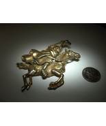 Korda Thief of Bagdad Cloaked Rider Brooch 1960's - $119.99