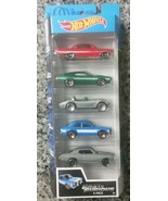 HOT WHEELS FAST AND FURIOUS 5 PACK - '70 CHEVELLE CORVETTE FORD IMPALA - $10.88