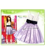 Purple Girls Party Dress Birthday Party Dress Club Dress - $8.00