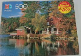 MB Milton Bradley 4611-13 Croxley Cardboard Multi-Color Puzzle 500 Pieces - $23.33