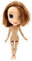 "Disney Jr. 9"" Princess Sofia Doll Short Brown Hair Blue Eyes Nude Mattel 2016 - $3.95"