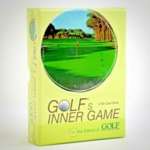 Golf's Inner Game 50 Cards Golf Mag Tips Insights Better Score All Level... - $14.85