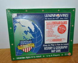 EDUCATIONAL MATERIALS NORTH AMERICAN INDIAN GAME HISTORY GEOGRAPHY TEACH... - $12.59