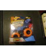 Hot Wheels Jurassic Attack Monster Jam Truck #34 Orange Color Treads - $9.79
