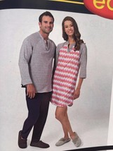Simplicity Sewing Pattern 1187 Unisex Teens Adults Knit Top Pants Size X... - $11.17