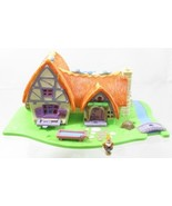 1995 Polly Pocket Mfr Disney Snow White and the Seven Dwarfs Cottage + O... - $20.00