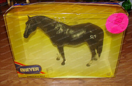 Breyer, State Line Tack Special Edition (3355) Black Thoroughbred (1996) - $48.02