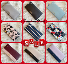 Nwt Kate Spade Leather Cameron Large Slim Bifold Wallet In Various - $48.88+