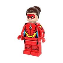 1 Pcs Super Hero Figure Jesse Quick Fit Lego Building Block Minifigures ... - $6.99