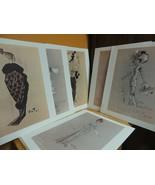 Portfolio 6 My Fair Lady Costume Designs Limited Prints Cecil Beaton Vin... - $53.99