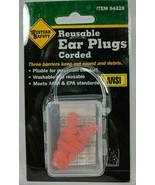 Reusable Corded Earplugs Meets ANSI and EPA standards of 25 Decibels - $5.93