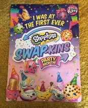 SHOPKINS Double-Sided Swapkins Party / Mega Collector's Guide POSTER Toy... - $12.61