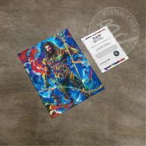 Blend Cota Jason Momoa Aquaman 14 x 11 Art Print DC Comic Art - $29.95