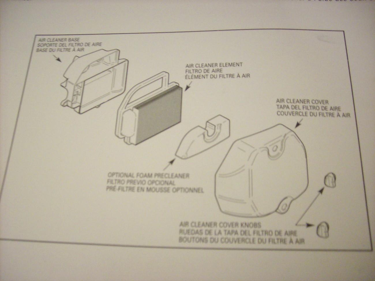 Kohler Air Filter Kit 20 083 02 Craftsman Lawn Mower