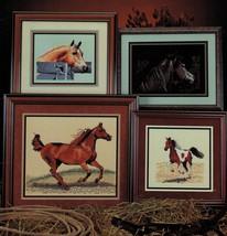 Cross Stitch Palomino Pinto Arabian Bay Black Love Of Horses Pattern - $11.99