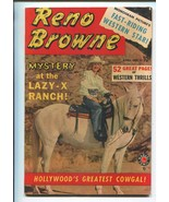 RENO BROWNE #50 1950-MARVEL-1ST ISSUE-WORLDS GREATEST COWGAL-JESSE JAMES-vf - $236.44