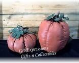 Set of 2 primitive pumpkins thumb155 crop