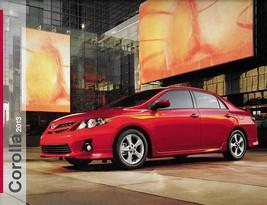 2013 Toyota COROLLA sales brochure catalog 13 US LE S  - $7.00