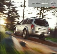 2009 Nissan PATHFINDER brochure catalog US 09 V8 Off Road SE LE - $8.00