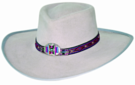 Bullhide Shinnecock Premium Wool Cowgirl Hat Decorative Bands Silverbell... - ₨4,688.07 INR