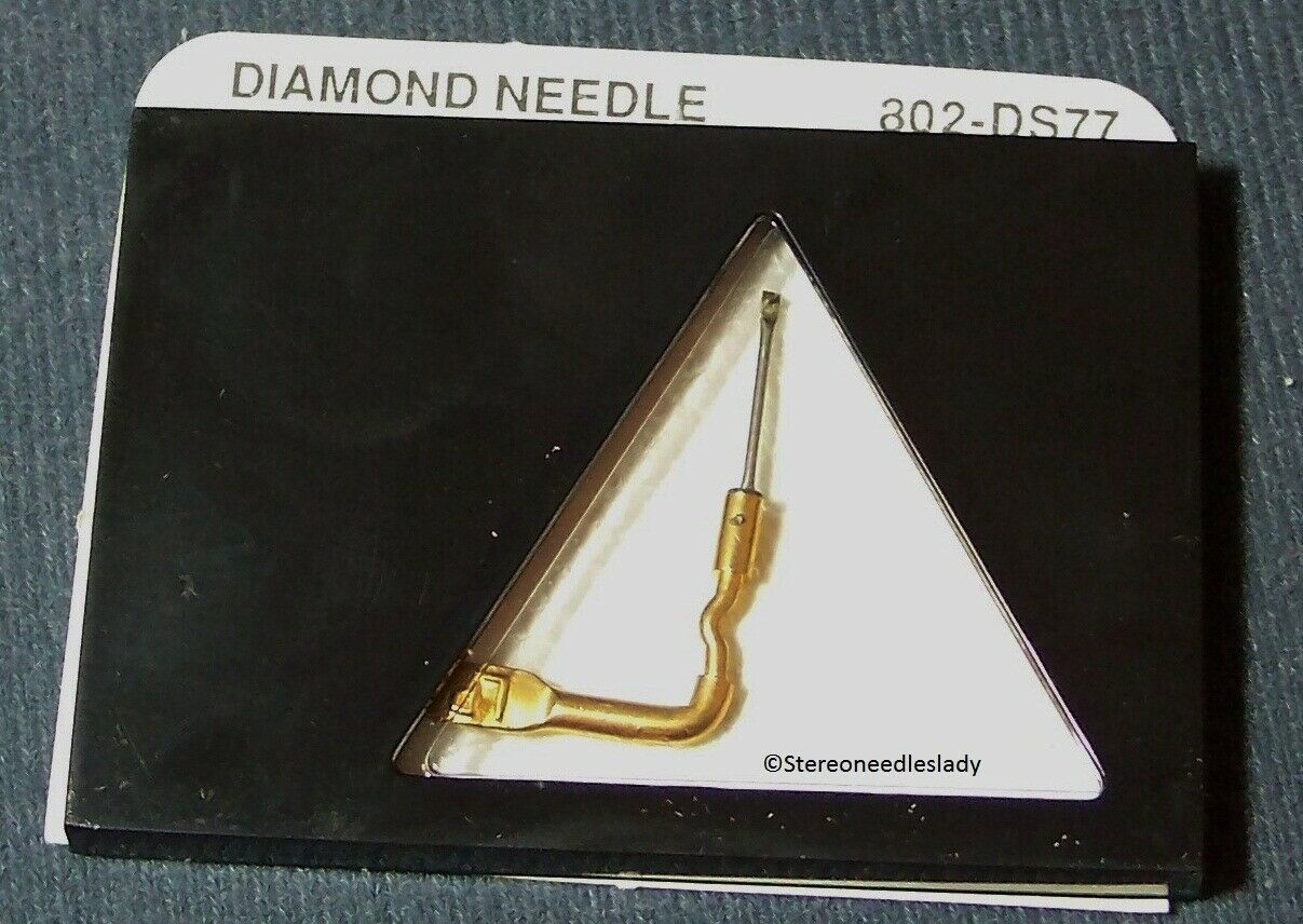STEREO RECORD PLAYER STYLUS NEEDLE for Sonotone 3T Sonotone N3T 802-DS77