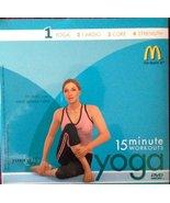 Mcdonalds 15 Minute Yoga Workout Dvd #1 [DVD] - $16.95