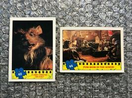 1990 Topps Teenage Mutant Ninja Turtles TMNT Movie Trading Cards Lot: #42 & #44 - $3.13
