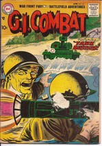 DC G.I. Combat #47 War Front Fury Tank Busters Blazing Battlefield Action - $19.95