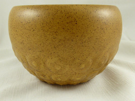 "VINTAGE HAEGER USA 166 TAN CERAMIC Planter POT 5 1/4"" in Diameter   P13 - $9.89"