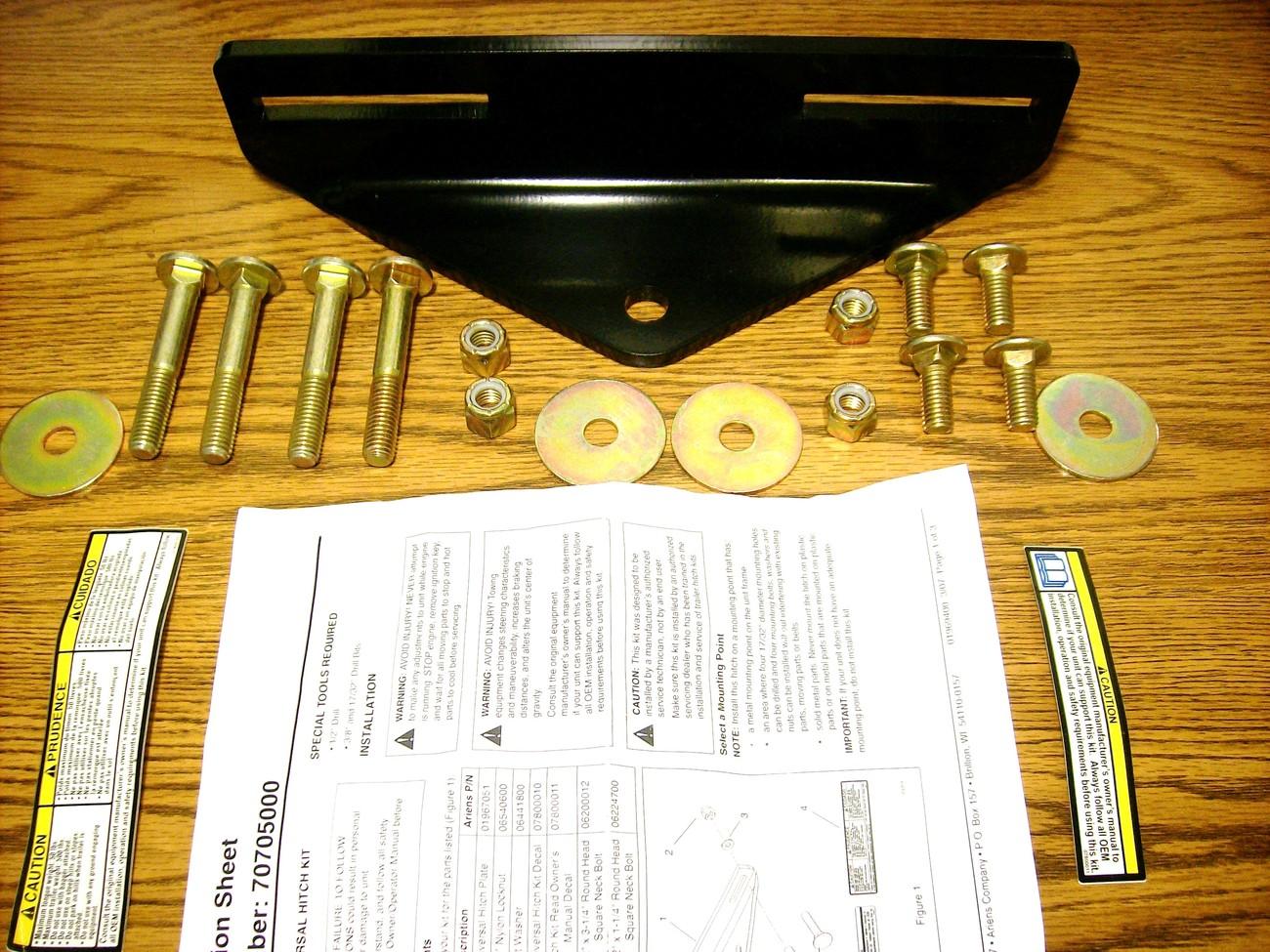 Exmark Lazer Z, Phazer lawn mower hitch and 50 similar items