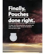Copenhagen and Skoal Introducing Copenhagen ans Skoal Pouches 2 Page Ad ... - $3.50