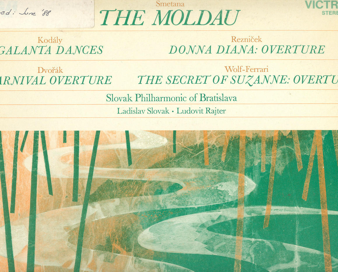 SMETANA The Moldau + Kodaly, Dvorak & More LP
