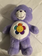 "13"" Care Bears Talking Harmony Bear Plush w/ Smiley Flower Play Along To... - $12.59"